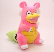 "Pokemon Slowpoke Evolution Slowbro Figure Stuffed Animal Plush Doll Toy 12"" New"
