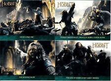 The Hobbit Unexpected Journey Complete Lonely Mountain Chase Set 18-Cards