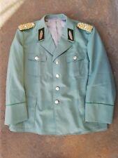DDR KVP MdI Volkspolizei VoPo Uniformjacke General hell 80er Jahre Garbadine
