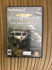 SOCOM 3 US NAVY SEALS, PLAYSTATION 2