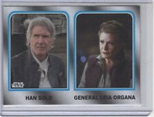 2017 Topps Star Wars Journey To The Last Jedi Family Legacy Card #1