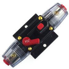 Auto Auto-Zubehör DC 12V Audio Stereo-Leistungsschalter ersetzen Sicherung 20A