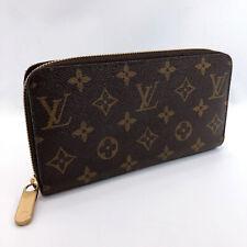 LOUIS VUITTON purse M41895 Zippy wallet Monogram canvas Fuchsia Women