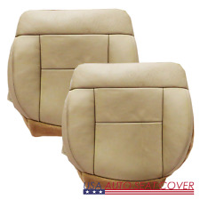03-07 FORD F.150 LARIAT 2-4 Door Driver Pa..Bottom Leather Seat cover TAN  EW