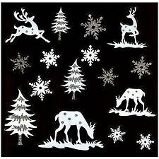 Weihnachts fensterbilder und aufkleber ebay for Weihnachts fensterbilder vorlagen