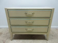 Vintage Painted French Regency Chic Bachelors Chest Dresser  B