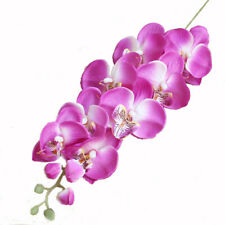 1PCS PURPLE Color Artificial Butterfly Orchid Silk Flower Wedding Phalaenopsis