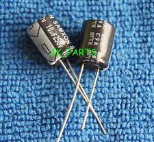 100pcs 10uF 250V 105°C Radial Electrolytic Capacitor 10x13mm