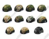 TACTICAL MILITARY HUNTING AIRSOFT PAINTBALL OPS-CORE FAST BJ/PJ/MH HELMET COVER-