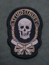 WW I Sturmtrupp Woven Patch Sew On