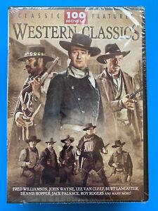 Western Classics DVD 2009 24-Disc Set ~ 100 Movies 124 Hrs ~ Rogers Wayne Flynn
