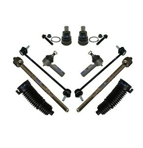 10 Pc Suspension Kit for Mercury Mariner Ford Escape Mazda Tribute Tie Rod Ends