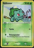 Pokemon 45/100 Bulbasaur Crystal Guardians Reverse Holo