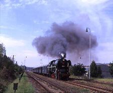 Colour railway slide / MF transparency 99038K CD Czech Railways 464.202 Studenec