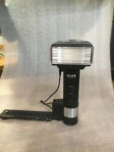 Metz 45 CT-1 Handle Mount Flash used good working condition with battery pack