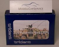 Trident 1/87: 87216 Land Rover Perentie 6x6 LRPV, Australian Army -Resin-Bausatz