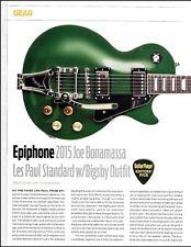 Joe Bonamassa Signature Epiphone Les Paul Standard Guitar Review / Specs article