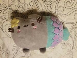 "Plush Kitty MERMAID 6"" Cat  Stuffed Animal"