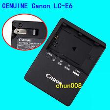 Genuine Original Canon LC-E6 Charger for LP-E6 Battery EOS 5D Mark III 70D 60D