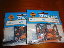 (4426-117) Roco 42267 H0 Prellbock Bausatz unbespielt in OVP-2 Stück-Nachlass
