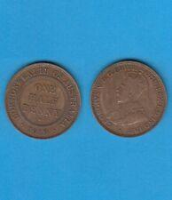 § Australie  Australia  Bronze Coin Georges V One Half Penny Bronze 1919