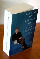 """FIRST EDITION Proof Alan Bennett """"Keeping On, Keeping On"""" Judi Dench Diaries +"""