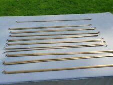 Ladderax support bars for 3ft  shelf or cabinet, MID CENTURY MODERN RETRO