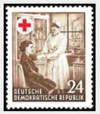 Timbre Santé Médecine Croix Rouge Allemagne RDA 136 ** lot 16835