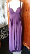 Glam by CAPRICE purple maxi DRESS, WEDDING CRUISE PARTY, size 8, BNWT