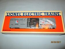Lionel #6-19932 Lionel Visitor Center 1994 Boxcar. NIB