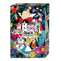 Disney Jigsaw Puzzle 500 Pieces Alice in Wonderland Alice and Rabbit Authentic