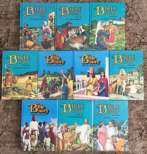 The Bible Story by Arthur S Maxwell Mixed 10-Volume Set Comprised of 2 Editions