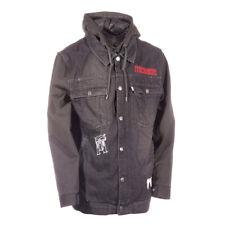 New 2015 Technine Mens Denim Vest Snowboard Jacket Large Gray Charcoal Heather
