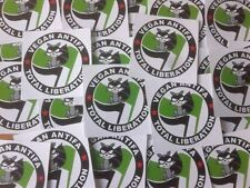 50 Vegan Antifa Aufkleber stickers Punk HC sXe Vegetarian Animal Liberation ALF