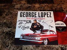 George Lopez Rare Hand Signed Comedy Vinyl LP Record Album Tall Dark & Latino