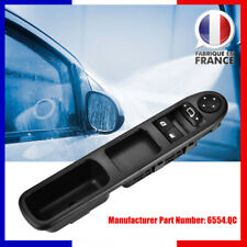 Interrupteur Commande Bouton de Lève Vitre Électrique 6490.QC Pour Peugeot 207