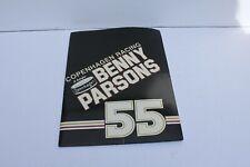 BENNY PARSONS,COPENHAGEN/HAYES RACING 1984 NASCAR  RACING  MEDIA GUID
