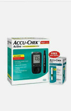 Accu chek Active Meter kit Glucose with 10 free strips