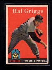 1958 TOPPS #455 HAL GRIGGA VG-EX D9909