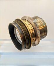 Antique Collectable Lens Emil Busch Rapid Aplantat  No 2 Ser D.F8