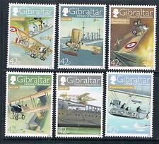 Gibraltar 2009 Centenary Naval Aviation SG 1317-22 MNH