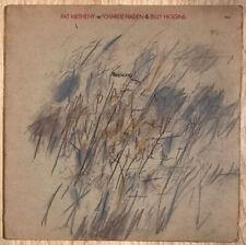 PAT METHENY W/ CHARLIE HADEN & BILLY HIGGINS REJOICING ECM RECORDS 1984 VG+