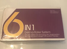 Derma Roller, Derma Roller Kit 6 in 1 Micro Needles Silicone Brush, New Sealed