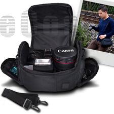 Medium Digital Camera/Video Bag/Case for Olympus E-5, E-30, E-62D, Om-D (Black)