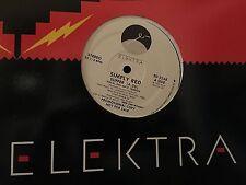 "SIMPLY RED SUFFER 12"" LP 1987 ELEKTRA ED 5268 DJ PROMO"