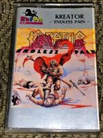 Kreator Endless Pain. Cassette Tape Plays Well Hardcore Thrash Metal Rare