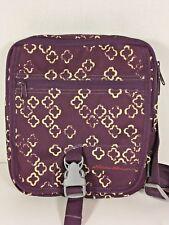 Eddie Bauer Purple Travex Cross-body Travel Shoulder Bag