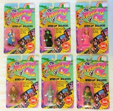 New ListingSet of 6 Wind-Up Walkers 50th Anniv. The Wizard of Oz - Multi Toys, 1988 - Mip