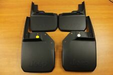 Jeep Wrangler Front & Rear Deluxe Molded Splash Guards Mud Flaps Mopar