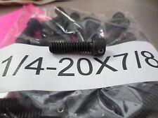 1/4-20 X 7/8 Socket Head Cap Screws